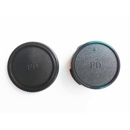 $enCountryForm.capitalKeyWord Australia - Wholesale 50Pairs lot camera Body cap + Rear Lens Cap for CAN ON FD Camera lens DSLR