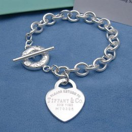 $enCountryForm.capitalKeyWord NZ - linlin Celebrity design 925 Silverware Silver Chain bracelet Women Letter wristband Bracelets Jewelry With dust bag Box