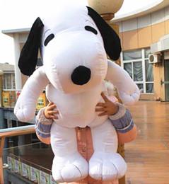 """W Toys Australia - Popular Snoopy Dog Plush Toy W Tie White Peanuts Stuffed Doll Xmas Gifts 41.3"""""""