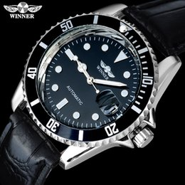 $enCountryForm.capitalKeyWord NZ - WINNER Men Luxury Automatic Self Wind Watches Male Clock Leather Strap Steampunk Casual Skeleton Mechanical Watches SLZa16