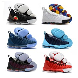 best quality boots 2019 - Best quality mens basketball boots 16 16s new men 2018 fall designer sneakers cream white fresh bred J16 Chaussures de b