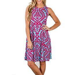 80003e8f520 Летние женские платья 2018 повседневная цветочные ретро старинные 50-х 60-х  годов рокабилли рокабилли качели Pinup Vestidos День Святого Валентина  платье