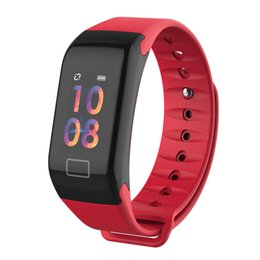 sports activities for kids Canada - Smart Bracelet Heart Rate Blood Press Monitor Activity Fitness Wristwatch Waterproof Sport Watch T1Plus For IOS Samsung Xiaomi