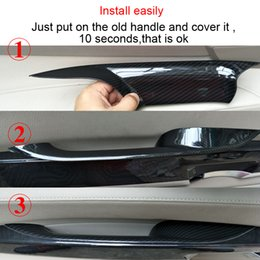 Nice Car Inner Door Armrest Trim Cover For Bmw F02 Car Door Inner Door Handle  Cover For F01 Car Interior Trim For Bmw Series 7 730 740 750 760