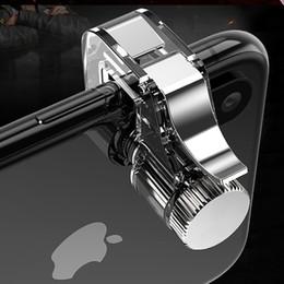 $enCountryForm.capitalKeyWord Australia - Bestsin Mobile Phone Metal PUBG Controller Fire Button Aiming shooting Gamepad 1Pair L1R1 Target Key Joystick For IOS Android