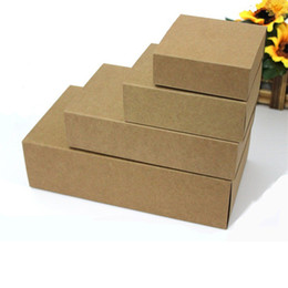 $enCountryForm.capitalKeyWord UK - 20pcs Blank Kraft Paper Drawer Boxes DIY Handmade Soap Craft Jewel Box for Wedding Party Gift Packaging