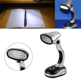 Desk Lamps Lights & Lighting New Portable Flexible 12 Led Desk Lamp Light Read Torch Battery Powered Cordless #k4u3x# 2019 New Fashion Style Online