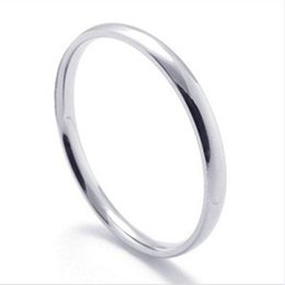 China Fashion simple cheap Stainless Steel Rings for women ladies Bulk Jewelry Wholesale Cheap Ring men girl gifts Drop Shipping cheap cheap bulk gifts suppliers