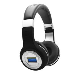 $enCountryForm.capitalKeyWord UK - 471 HiFi Bass Stereo Bluetooth Headphone Wireless Headset LCD Display With Microphone FM Radio TF Card Slot for calls compare to bluedio
