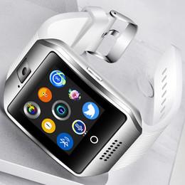 Großhandel 2018 neue Smart Watch Männer Smart Watch Bluetooth Verbindung Sport Musik Wiedergabe Farbdisplay Unterstützung TI Sim