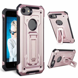 Aicoo Kickstand Armor Case Гибридный противоударный чехол для MOTO E6 Samsung S9 iPhone XS MAX XR Samsung S10 A50 Foxxd Miro OPP на Распродаже