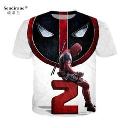 bf8ee396d9b9 Deadpool T Shirts Canada - Sondirane Newest 3D Print Deadpool 2 Marvel  Comics T Shirt Unisex