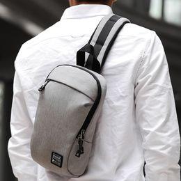 $enCountryForm.capitalKeyWord NZ - KAKA Fashion Blue Crossbody Bags Men Casual Water Repellent Chest Bag Pack For Short Trip Summer Multifunction Messenger Bags Free Ship
