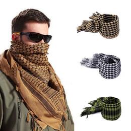 Arabian Tactical Hunting Bufanda Airsoft Sniper Face velo Multi prupose Senderismo Camping bufandas 110 * 110 cm en venta