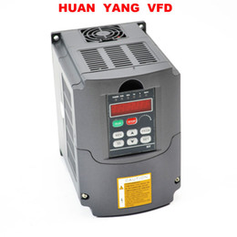 HUAN YANG Quality Variable Frequency Drive Inverter VFD NEW 3HP 2.2KW 220V 250V 380V available on Sale