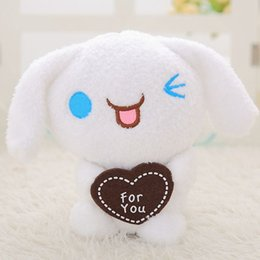Discount stuffed animal beds - 2018 Lovely animal Doll two expressions dog plush stuffed toys Soft doll Bed decoration children Gift 25cm