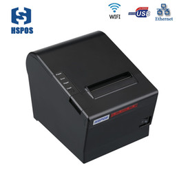 rolling cutter NZ - high speed 80mm thermal Receipt printer USB Lan WIFI port with cutter and 80MM large diameter roll HS-C80ULW