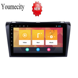 Car Console Dvd Australia - 9 inch Android 8.1 Octa 8 Core 2G RAM 32G ROM Car DVD Player for Mazda 3 2006 2007 2008 Radio GPS Navigation BT WIFI Map