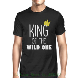 1126a795e 365 Printing King Queen Wild One Crown Family Matching Clothes Baby Shower  Gift New Fashion Men Women's T Shirt