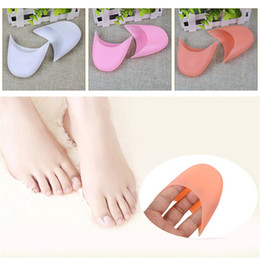 Shoe toe protectorS online shopping - Silicone toe cover ballet latin dance heel cover cases pointe Shoes covers soft wear resistant feet protector