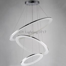 Led acrylic chandelier canada best selling led acrylic chandelier ac100 240v modern led acrylic hanging chandeliers light fixture circle ring lustre suspension lamp led lighting for living room home aloadofball Image collections