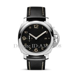 Blue geneva watch online shopping - Geneva Luxury Brand Mens Automatic Mechanical Watches AAA Top Pam Fashion Military Watch For Men