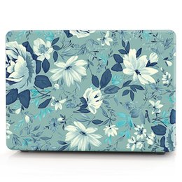 Macbook Retina 13 Inches Australia - FLOWER-4 Oil painting Case for Apple Macbook Air 11 13 Pro Retina 12 13 15 inch Touch Bar 13 15 Laptop Cover Shell