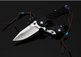 strider knives 2019 - Strider Tied Rope Folding Knife(PE666) Outdoor Self-defense Fishing Camping Tool Xmas Gives Of Man Freeshipping cheap st