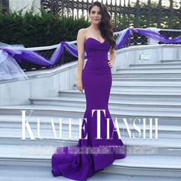 Kardashian Special Occasion Dresses Canada - fashion 2018 kim kardashian vestidos celebrity red carpet sexy mermaid long party gown sweetheart Celebrity Dresses