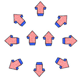 $enCountryForm.capitalKeyWord Canada - 10 PCS Funny Arrows Patches for Clothing Bags Iron on Transfer Applique Patch for Jeans Sweater Kids DIY Sew on Embroidery Stickers