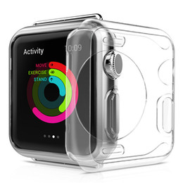 Scratch reSiStant Screen online shopping - Watch Screen Case PC Abrasion resistant Anti scratch Screen Protector Shell for Apple Watch iWatch Series mm Clear with opp bag