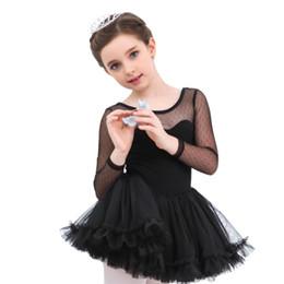$enCountryForm.capitalKeyWord UK - Girls Ballet Dresses Kids Gown Long Sleeve Dance Dresses Princess Baby Girl Leotard Bodysuit Dancewear