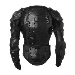 Xl Full Body Suits NZ - Motocross Dirt Bike Full Body Armour Jacket Chest Shoulder Elbow Plastic Coverage Quad Motorcycle Protect Suit S M L XL XXL XXXL