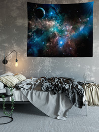 $enCountryForm.capitalKeyWord NZ - Night Sky Star Picture Sublimation Printed Hot Selling Custom Size 130X150cm Wall Tapestry for Home Decoration