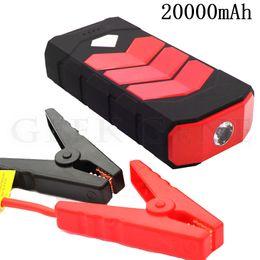 $enCountryForm.capitalKeyWord NZ - Multi-Function 20000mAh Car Jump Starter Power Bank 12V Portable Starting Device Car Charger For Battery Lighter LED