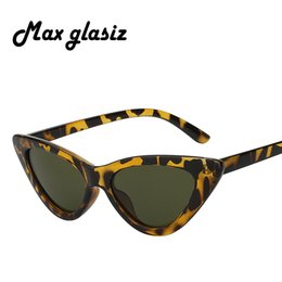 c38c26e03f6 TOP Fashion Cat Eye Sunglasses Women Brand Designer Sexy Stylish Sun Glasses  For Women Female Coating shades UV400