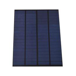 Wholesale solar panels 5W online shopping - 200Pcs W V Mini PET EVA Laminated Solar Cell Panel DIY Polycrystalline Solar Cell DHL Shipping for Solar System and Education