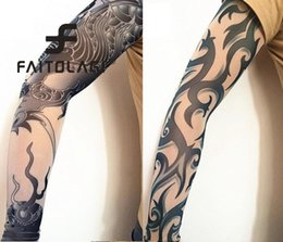 $enCountryForm.capitalKeyWord Canada - Party Thin Warmer Arm Sleeves Sun Women Summer Spring Long Protect Print Warmer Arm Men Tattoo Decor Fashion