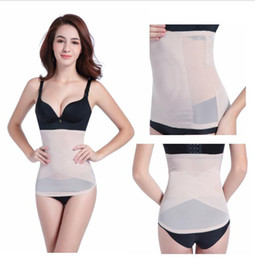 39b8192a8c Tummy Trimmer Body Shaper Australia - Summer Invisible Body Shaper Belt  Tummy Trimmer Waist Trainer Stomach