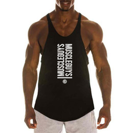 $enCountryForm.capitalKeyWord NZ - olds bodybuilding clothing gyms stringer tank top men musculation vest fitness men undershirt cotton tank sportwear shirt