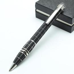 6 styles de résine de luxe ou de stylo à bille matel monte stylo mode papeterie fournitures de bureau d'écriture stylo de marque