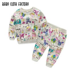 $enCountryForm.capitalKeyWord Canada - Kids Clothing Sets 2016 Winter Girls Clothes Graffiti Prints Sweatshirts+Casual Pants 2Pcs for Children suits