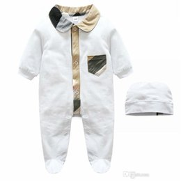 $enCountryForm.capitalKeyWord NZ - Spring Baby Bodysuit Romper Long Sleeve Cotton Hooded Romper Baby Clothes Solid Jumpsuit For Babies Fashion Comfortable Kids Dresses