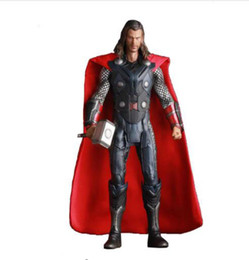 China Crazy Toys Avengers Age of Ultron Thor PVC Action Figure Collectible Model Toy 30cm Free Shipping cheap avengers age ultron toys suppliers