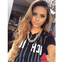 black honey blonde ombre 2018 - For Black Women 1B 27 Honey Blonde Ombre Lace Front Human Hair Wigs 130% Density Body Wavy Peruvian Human Hair Full Lace