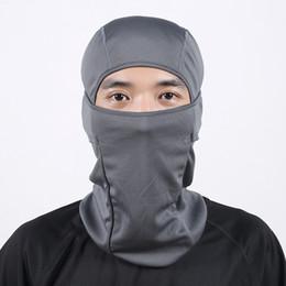 Hat scarf ski mask online shopping - Balaclava Winter Outdoor Sports Riding Skiing Multifunctional Windproof Warm Hat Cap Scarf Turban Mask Headgear For Men Women Free DHL H688F