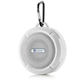 C6 Динамик Bluetooth-динамик Беспроводной плейер-проигрыватель Водонепроницаемый громкоговоритель и присоска Стерео музыкальный плеер Высокое качество