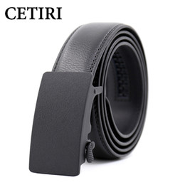 $enCountryForm.capitalKeyWord NZ - CETIRI New Fashion Designer Belts For Men Sliding Buckle Ratchet Luxury Leather Automatic Belt ceinture homme cinto masculino