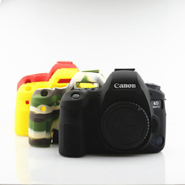 $enCountryForm.capitalKeyWord NZ - NEW Soft Silicone Case Camera Protective Body Bag For eos 6DII 6D Mark II Rubber Cover Battery Openning 6D2 Camera Bag