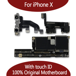 Unlock motherboard online shopping - For iPhone X Unlocked Original Motherboard With Face ID GB GB IOS Logic board With Full Chips Mainboard For Replace